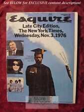 ESQUIRE December 1969 Tom Wolfe William Humphrey SHAPING THE SEVENTIES!