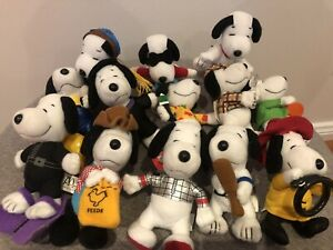 The Many Lives Of Snoopy McDonalds Happy Meal Toys 2001 - 13 Of 16 - As New