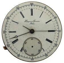 RARE Vintage Heuguenin Vuillemin Courvoisier Locle No 202 Pocket Watch Movement