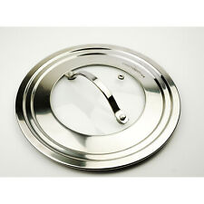 RSVP Endurance 9 Inch Universal Lid With Glass Insert