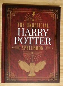 The Unofficial Harry Potter Spell Book - Special Edition (2019, Hardcover) New