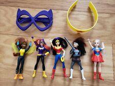 dc super hero dolls mcdonalds lot of 7 toys
