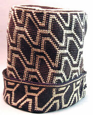 PRESTIGE HAT ASHETU AFRICAN BAMILEKE HEAD WEAR ACCESSORY COTTON CAMEROON ETHNIX