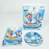 Mario & Sonic At The Olympic Winter Games (Nintendo Wii, 2009) Complete VG