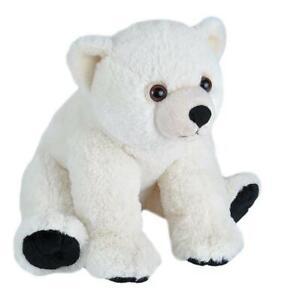 CUDDLEKINS POLAR BEAR BABY PLUSH SOFT TOY 30CM STUFFED ANIMAL WILD REPUBLIC