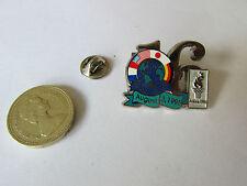 GIOCHI olimpici d'Atlanta 1996 16 giorni per andare 03 AUG 96 ORIGINALE METALLO Pin Badge