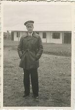 PHOTO ANCIENNE - VINTAGE SNAPSHOT - MILITAIRE PILOTE ARMÉE AIR UNIFORME 1940 2