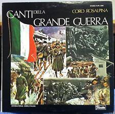 CORO Tanken-bergwärts della Grande Guerra LP Mint-FLPS 1584 italienische RARE