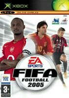 FIFA Football 2005 for Xbox original complete with manual PAL