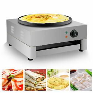 220-240V Commercial Electric Crepe Maker 3KW Non Stick Large Pancake Machine