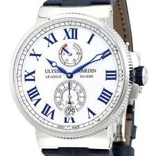 Swiss Made. Ulysse Nardin Marine Chronometer Automatic Mens Watch 1183-122/40.