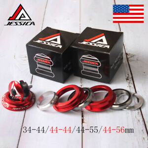 """JESSICA 34/44/44-55/44-56mm Bicycle AL Headsets For 1-1/8"""" Threadless Fork Tube"""