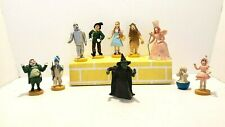 Loews Ren. Wizard Of Oz Figures Lot Of 10 Dorothy Witch Scarecrow Free Shipping!