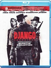 DJANGO  UNCHAINED  -  Quentin Tarantino, Di Caprio, Washington - BLU RAY NUOVO