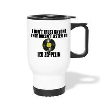 Led Zeppelin Stainless Steel Travel Mug