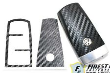 CARBON Folie Dekor Schlüssel VW C Passat CC B7 3C 35 36 GTI R36 Schlüsselfolie