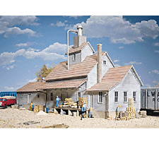 Walthers 933-3061 HO Cornerstone Series Sunrise Feed Mill Structure Kit