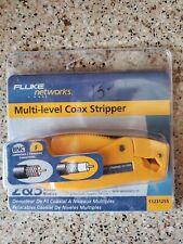 Fluke Networks Multi-Level Coax Stripper  11231255  New