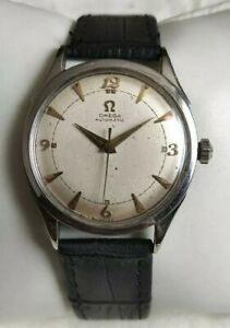 Vintage 1950's Omega Bumper Automatic Calibre 351 Stainless Steel Men's Watch