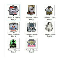 Funko DC Comic Pins Legion of Collector Exclusive lot of 8