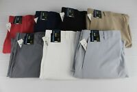 NEW Roundtree & Yorke Performance Size 42 Classic Flat Front Men's Shorts NWT