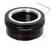 Copper Adjustable 42mm M42 lens to Sony E-Mount NEX-7 NEX-5R NEX-5T adapter
