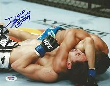 Diego Brandao Signed UFC 8x10 Photo PSA/DNA COA Picture Autograph 168 153 146 14