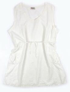 La Bass Kleid Größe 3 48- 54 100% Leinen