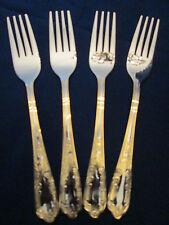 SET 4 DINNER FORKS! Vintage PREMIERE stainless: made in GERMANY: excellent!