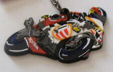 SHANE BYRNE SHAKEY BYRNE APRILIA NEW MOTO GP RUBBER KEY RING