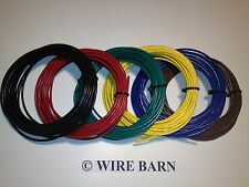 20 AWG MTW / TEW / UL1015 - 20 AWG HOOKUP WIRE - SIX (6) COLORS - 25' EACH COLOR