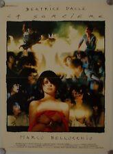 Affiche Cinéma SORCIERE 1988 BELLOCCHIO Dalle Ezralow Touzet- 40x60