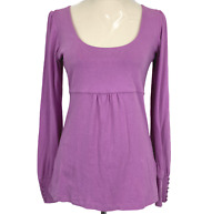 Witchery Womens Pink Long Sleeve Blouse Size S