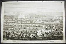 Bataille d'Austerlitz 1805 Rep Tchèque 1805 Napoléon Bonaparte 1815 Carle Vernet