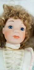 """Tussini Collection Melody 16338 14"""" Hand Crafted Porcelain Doll"""