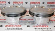 Ducati 998 999 S4RS, big bore 996, PAIR of 100mm pistons, rings, clips 12220642A