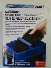 Penn Plax Cascade 700/1000 GPH Canister Filter Aquarium Bio Sponge Replacement,