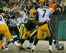 Packers Defensive Tackle MIKE DANIELS Signed 8x10 Photo #1 AUTO ~
