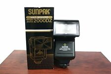 Vintage Camera Flash Sunpak Auto 2000DZ Flash Thyristor Electronic Unit