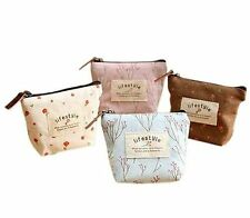 Unbranded Women's Canvas Coin Purses & Wallets with Zip-Around