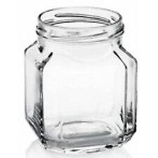 VASETTO in vetro 314 ml (QUADRATO) per MIELE 400 g capsula oro- Confez. 24 pezzi