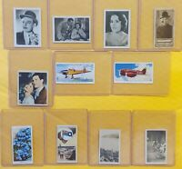 1900s Tobacco Cards HANSOM Klondyke Cigarettes PLAYER W.D. & H.O. WILLS IMPERIAL