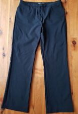 DAVID LAWRENCE Black Stretch Pants Size 16