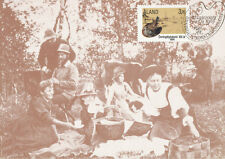 Aland Finland 1986 Maxi Card nr 1 - Onningeby Art Camp 100 years - Artists