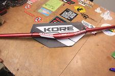 Kore Durox 20mm Rise 31.8mm Red 760mm Mountain Bike Handlebar