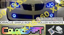ORACLE Head/Foglight HALO RING KIT for Pontiac GTO 04-06 LED ColorSHIFT Simple