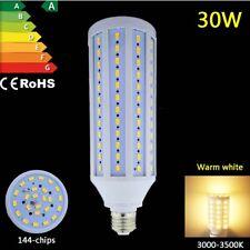 30W led lamp e27 screw smd corn cob ceiling light smart constant current AC 230V