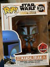 Funko Pop! Shop Exclusive Star Wars 2 Stripe Mandalorian #354~No Reserve Auction
