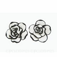 Leverback Silver Plated No Stone Round Costume Earrings