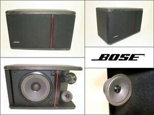 BOSE 301 Continental Bookshelf Direct Reflecting Cube Rectangle Black Speaker